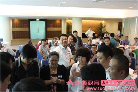安博人众人沙盘培训走进新加坡