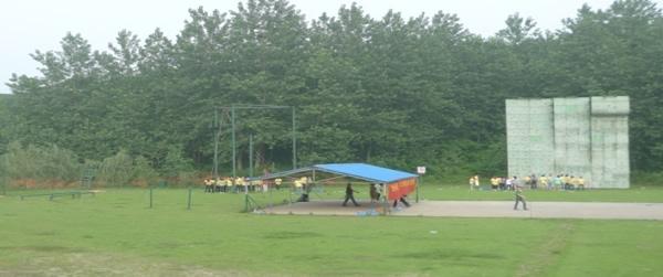 红山体育公园拓展基地