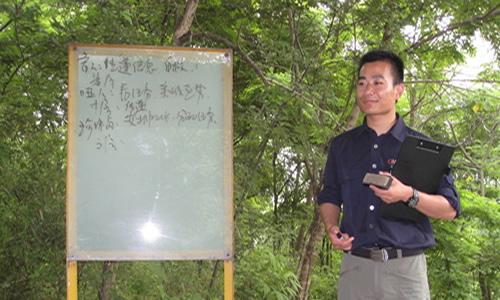 团体训练之---孤岛求生-人众人-南京拓展训练公司