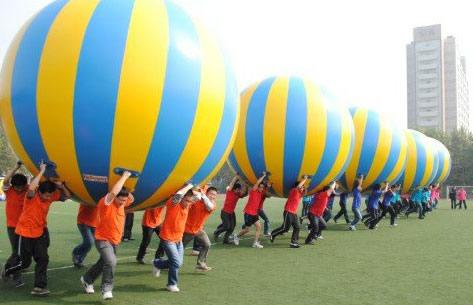 人众人课程趣味运动会